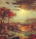 cropsey autumn on the hudson