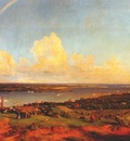 cropsey the narrows from staten island 1866