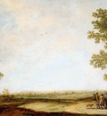 Cuyp Albert Panoramic view of Wageningen Sun
