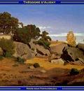 PO Vp S2 52 DAligny Rocks near Fontainebleau