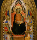 Daddi Madonna and Child with Saints and Angels, 1330s, 50 2x