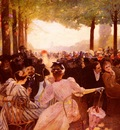 Dagnaux Albert Marie Adolphe Avenue Du Bois De Boulogne Club Des Pannes