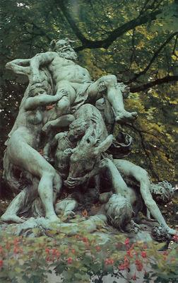 Dalou Jules The Triumph of Silenus