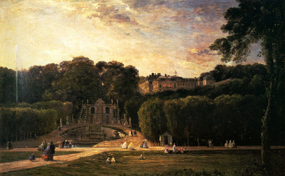 Daubigny Charles Fracois The Park At St Cloud