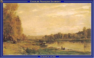 PO Vp S2 19 Daubigny The banks of the Oise