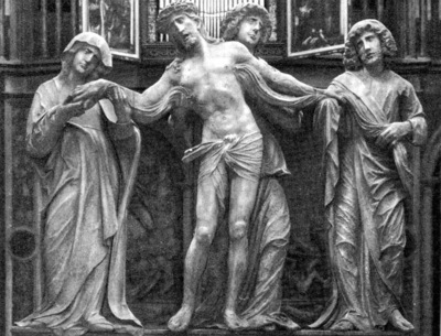 Christ with Mary and St John WGA
