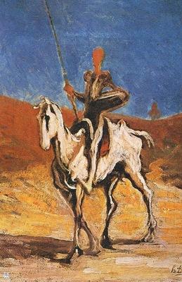 ma Daumier Don Quichotte