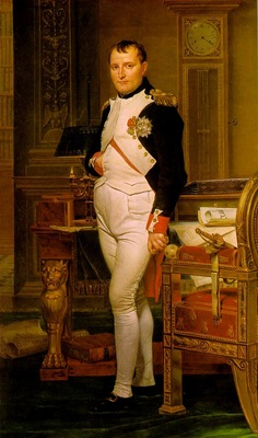 David,J  L  Napoleon in His Study, 1812, NG Washington
