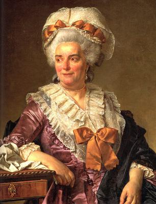 David Jacques Louis Portrait of Genevieve Jacqueline Pecoul