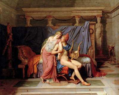 David Jacques Louis The Courtship of Paris and Helen