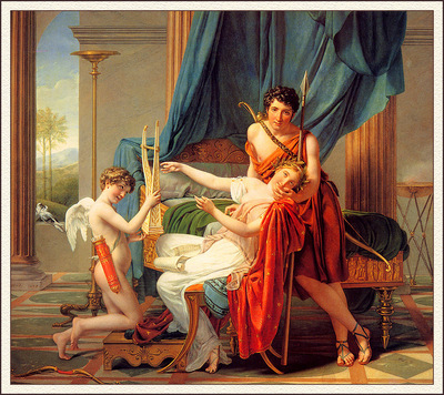 bs Jacques Louis David Sappho And Phaon