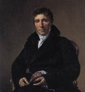 DAVID Jacques Louis Portrait of Emmanuel Joseph Siey