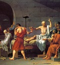 David,J  L  The Death of Socrates, 1787, Metropolitan NY