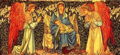 John Henry Dearle The Nativity, De