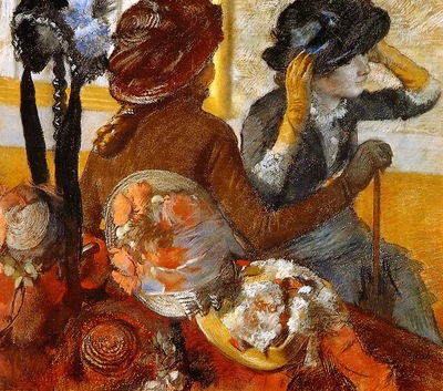 Degas, Edgar At the Milliners end