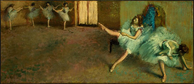 Degas Before the Ballet, 1890 1892, NG Washington