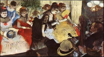 degas cabaret, 1876