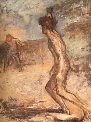 Degas David Goliath, 1864, Fitzwilliam Museum, Cambridge