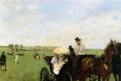 Degas Edgar Aux courses en province Sun