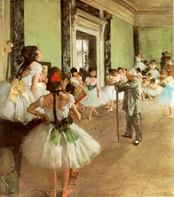 Degas La classe de danse, ca 1873 75, 85x75 cm, Musee dOrsa