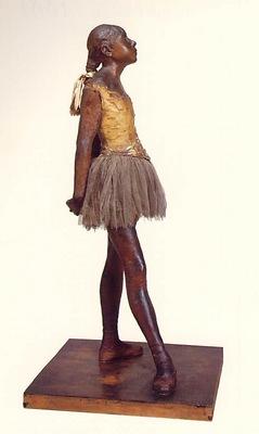 Degas Petite danseuse de quatorze ans, statuette en cire, ca
