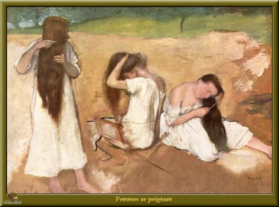 po degas 15 femmes se peignant 1875