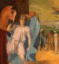Degas Alexander and Bucephalus, 1861 1862, detalj 2, NG Wash