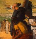 Degas Alexander and Bucephalus, 1861 1862, detalj 4, NG Wash