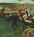Degas At the Races, 1877 1880, Musee dOrsay, Paris