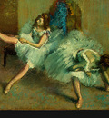 Degas Before the Ballet, 1890 1892, detalj 3, NG Washington