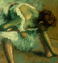 Degas Before the Ballet, 1890 1892, detalj 5, NG Washington