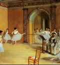 degas dance lesson,