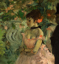 Degas Dancers Backstage, 1876 1883, detalj 2, NG Washington
