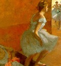Degas Dancers Climbing the Stairs, approx  1886 90, oil on c