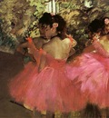 Degas Dancers in Pink, 1880 85, Hill Stead Museum, Farmingto