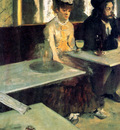 Degas Edgar The absinth drinkers at the cafe Sun