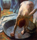 Degas Edgar The washing tub Sun