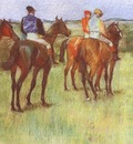 Degas Jockeys, pastel on paper, Hill Stead Museum, Farmingto