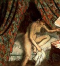 Degas Retiring, 1883, Pastel, The Art Institute of Chicago