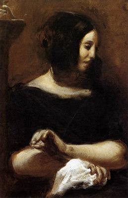 DELACROIX Eugene George Sand