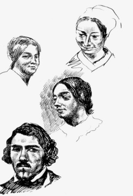 DELACROIX Eugene Page of a sketchbook