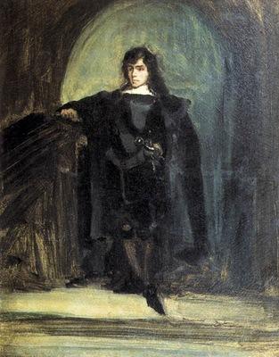 DELACROIX Eugene Self Portrait as Ravenswood
