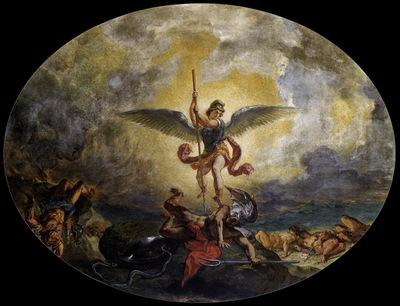 DELACROIX Eugene St Michael defeats the Devil