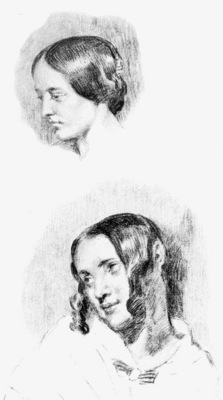 DELACROIX Eugene Study for Jenny Le Guillou and Josephine de Forget