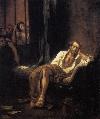 DELACROIX Eugene Tasso in the Madhouse