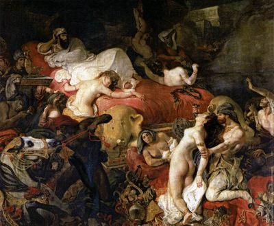DELACROIX Eugene The Death of Sardanapalus