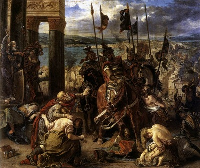 DELACROIX Eugene The Entry of the Crusaders into Constantinople