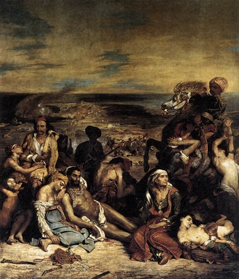 DELACROIX Eugene The Massacre at Chios