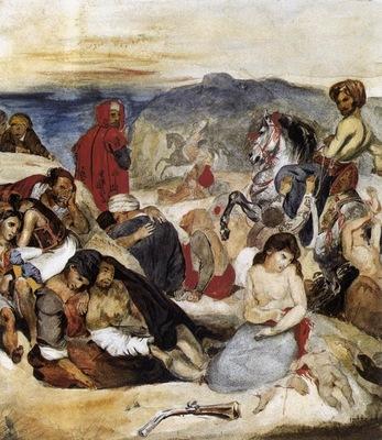 DELACROIX Eugene The Massacre of Chios