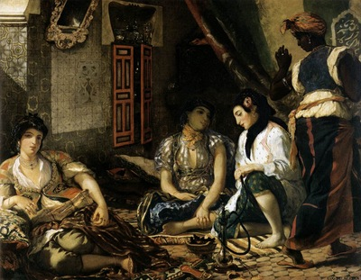 DELACROIX Eugene The Women of Algiers